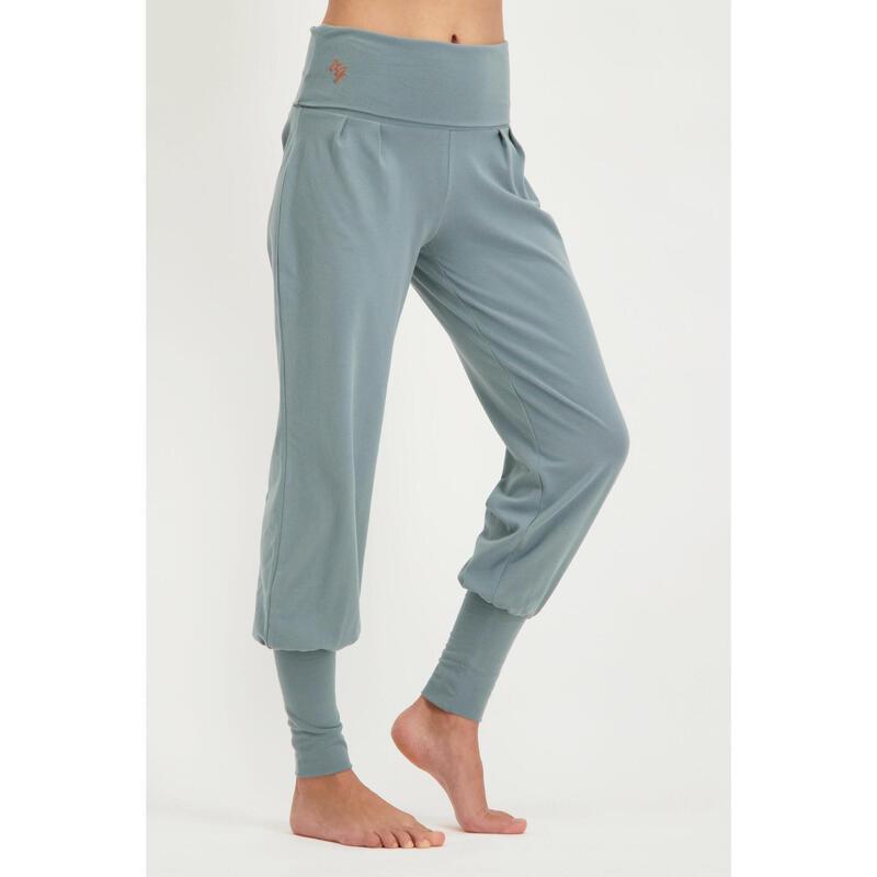 Pantalon de yoga Devi - Pantalon Aladdin ample confortable  - Jade