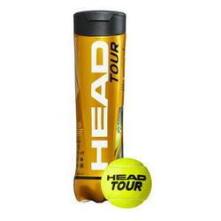 TOUR Tennis Ball (3-ball-tube)