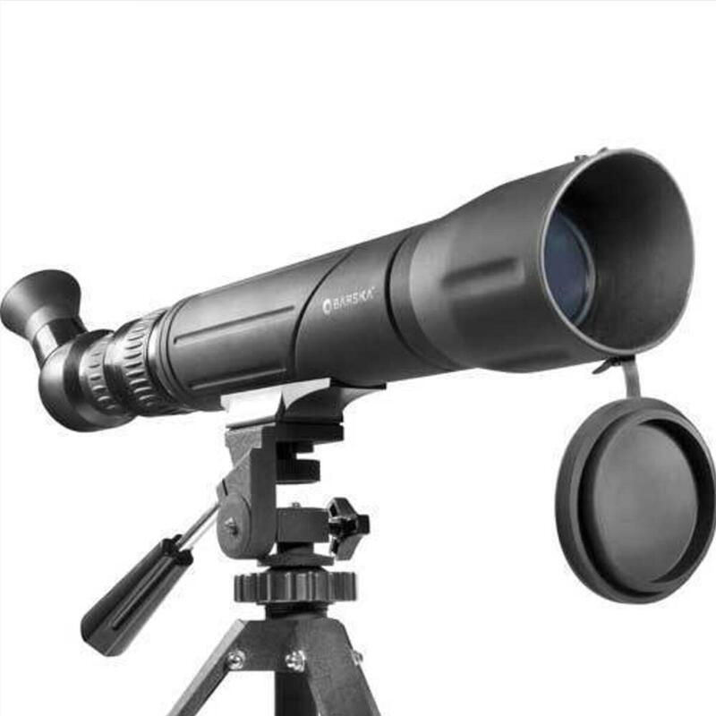 Telescoop spotter SV 20-60x60 met draaiend oculair - Zwart