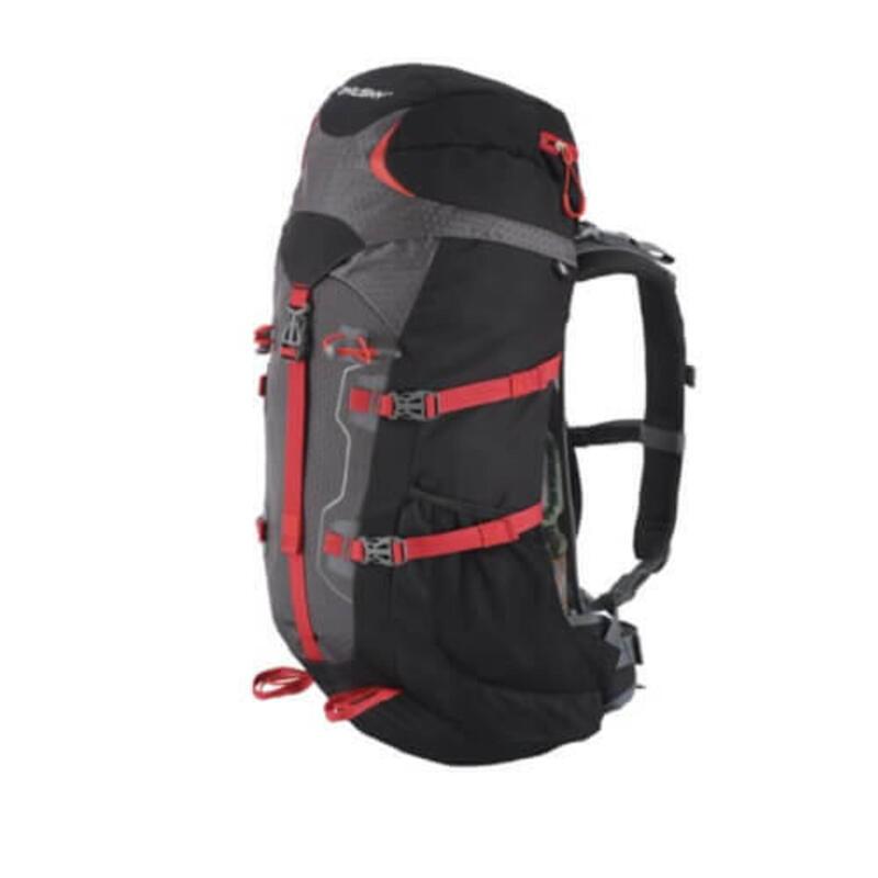 Rugzak Expedition Scape Backpack 38 liter - Zwart met Rood