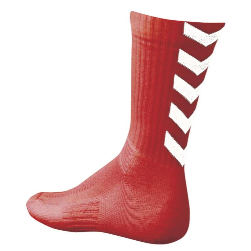 Chaussettes Hummel Authentic Indoor - rouge/blanc