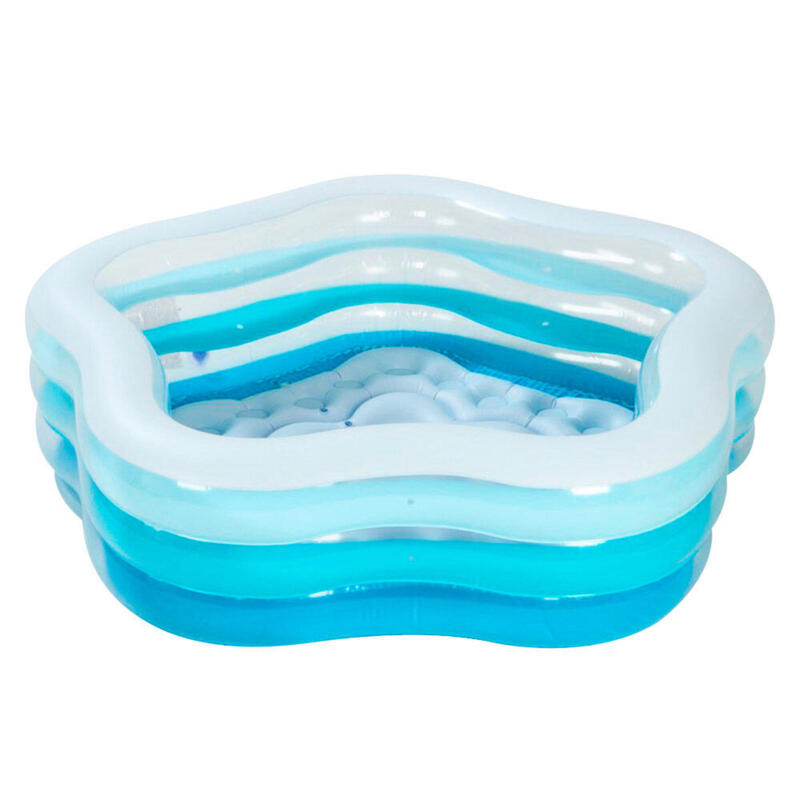 Piscina hinchable INTEX transparente 185x180x53cm - 460 l