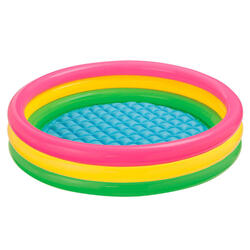 piscine gonflable coloré