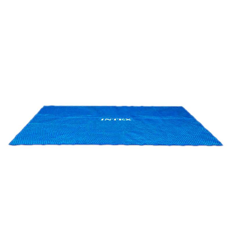 Cobertor solar INTEX para piscinas rectangulares 732x366 cm