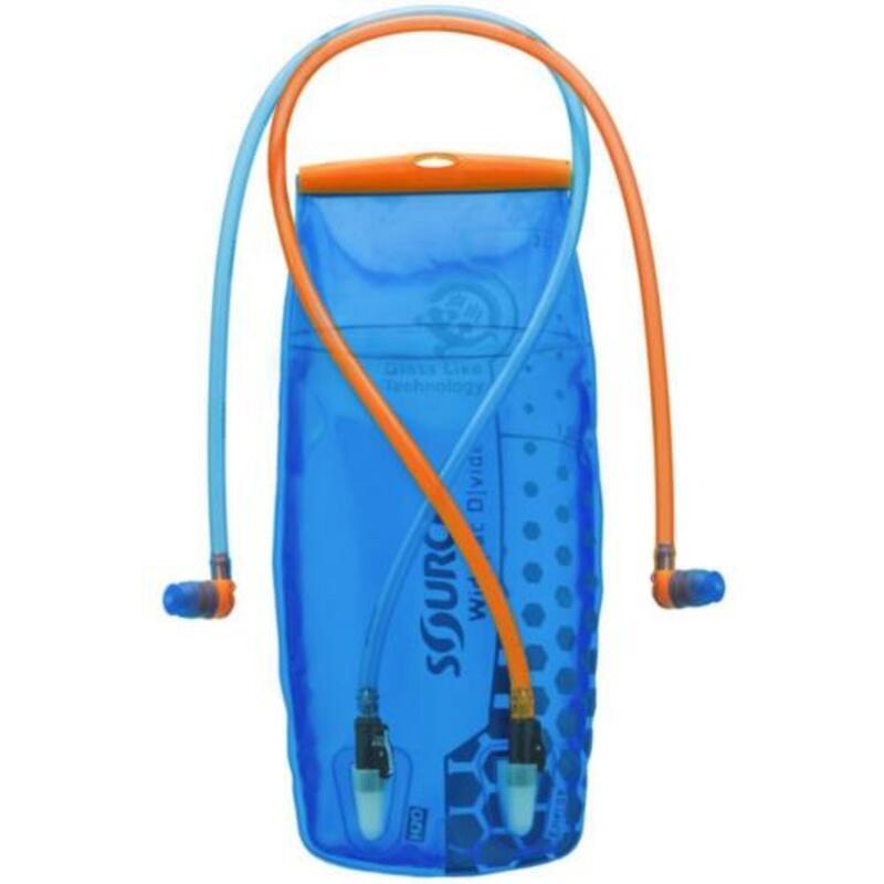 Hydration pack systeem D|vide voor twee drankjes -2 liter Blauw