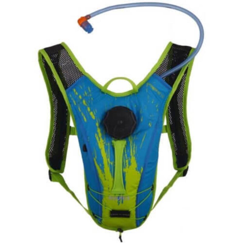 Hydration pack voor kinderen Spinner NC 1.5 liter - Blauw-Groen