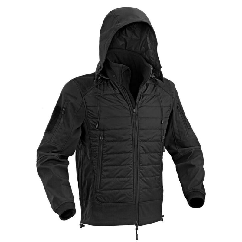 Jas Urban Shell Jacket met capuchon - Zwart