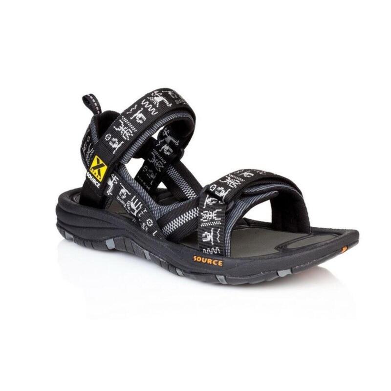 Sandalen voor heren Gobi Black Inca - outdoor - Zwart