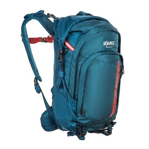 Rugzak Adventure Pack Coral Blue 23+5 liter - Blauw