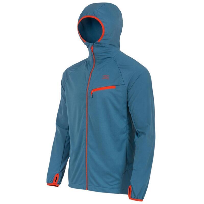 Midlayer shirt-jas voor heren Tactical Hirta Hybrid - Blauw
