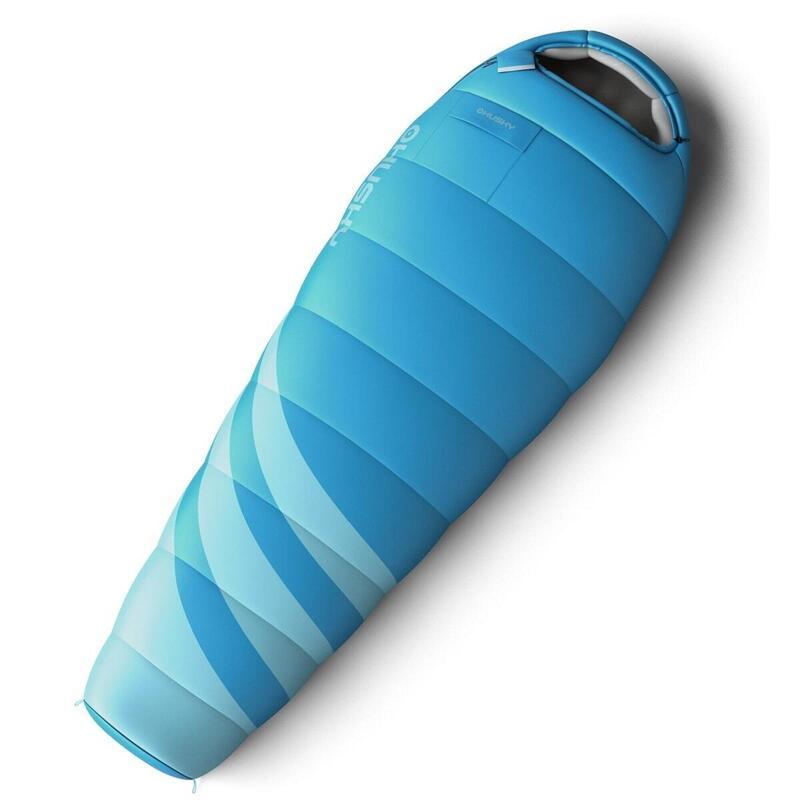 Mummyslaapzak speciaal voor dames Majesty 200 x 85 cm - Blauw