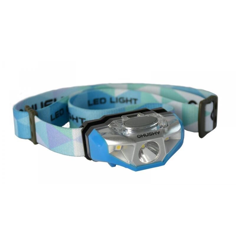 Hoofdlamp op AA batterij Selma 140 lumen - Blauw