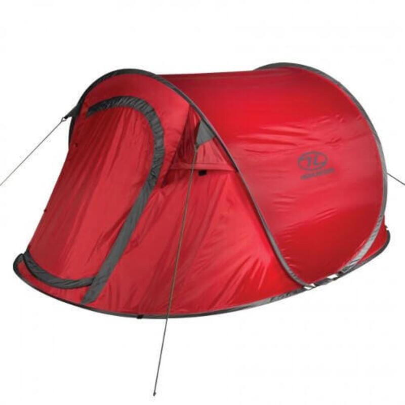 Tent Heather 3 - Lichtgewicht pop up tent - 3-Persoons - Rood