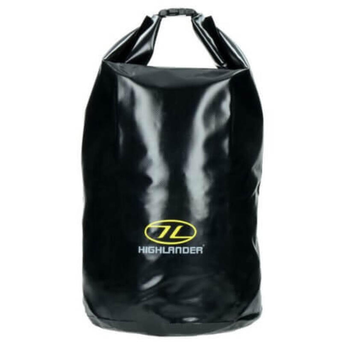Waterdichte tas Dry bag Tri-Laminate PVC 29 liter - Zwart