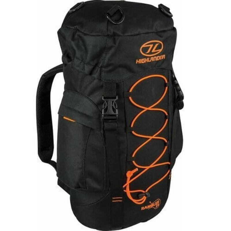 Rugzak Rambler 25 liter - Zwart-Oranje