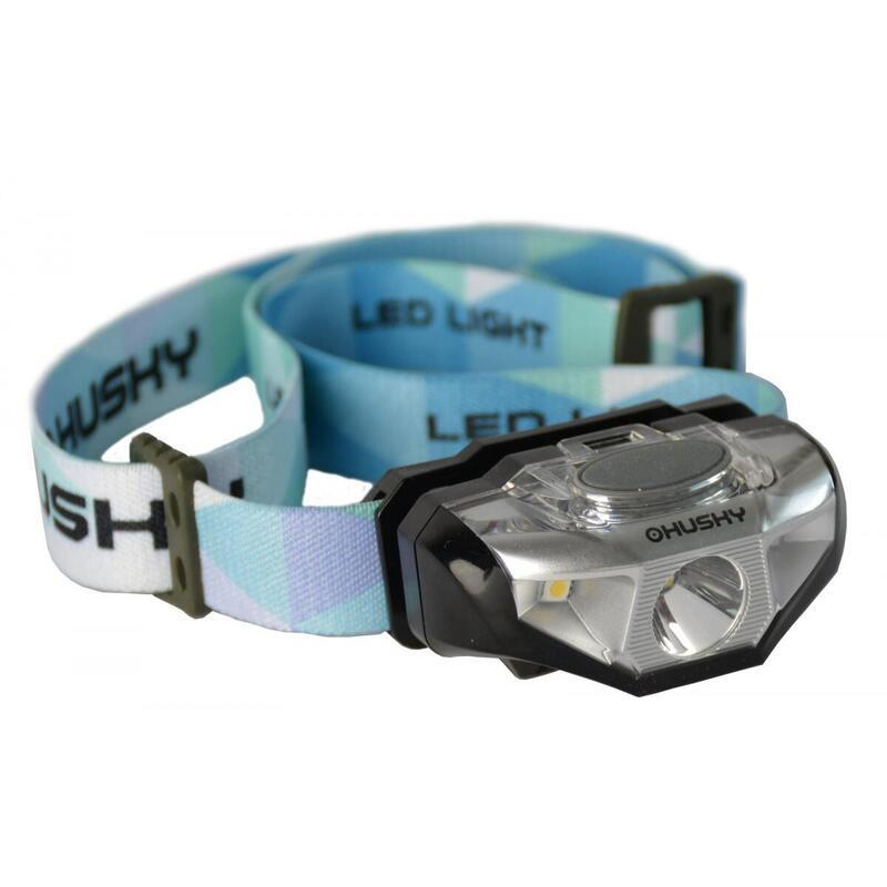 Hoofdlamp op AA batterij Selma 140 lumen - Zwart