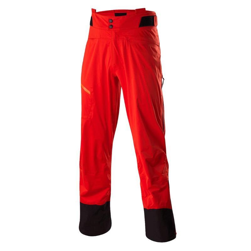 Outdoorbroek voor heren Touring Pants Pace GTX Active Fiesta - Rood
