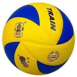 Micro-Fiber PU Volleyball (Yellow/Blue)