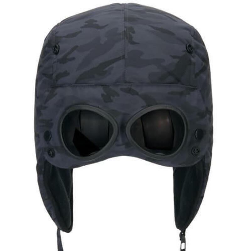 Muts met zonnebril Gogglez hat 58 cm - Zwart camouflage