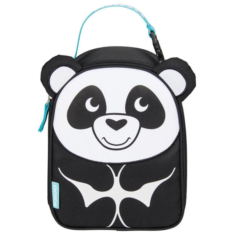 Nevera de tela infantil Camping y Senderismo IGLOO LUNCH ANIMALS PANDA