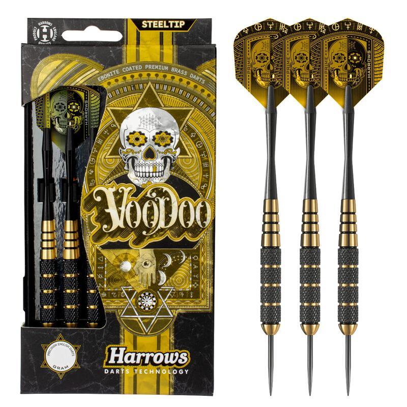 Harrows Voodoo Brass Steel Tip Darts
