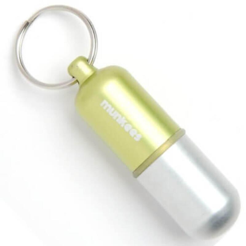 Waterdichte capsule Maat M - Geel - Groen