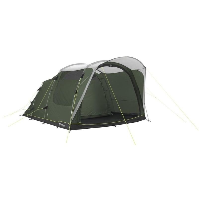Outwell Green Oakwood 5Select 5 Man 3 Room Tunnel Tent