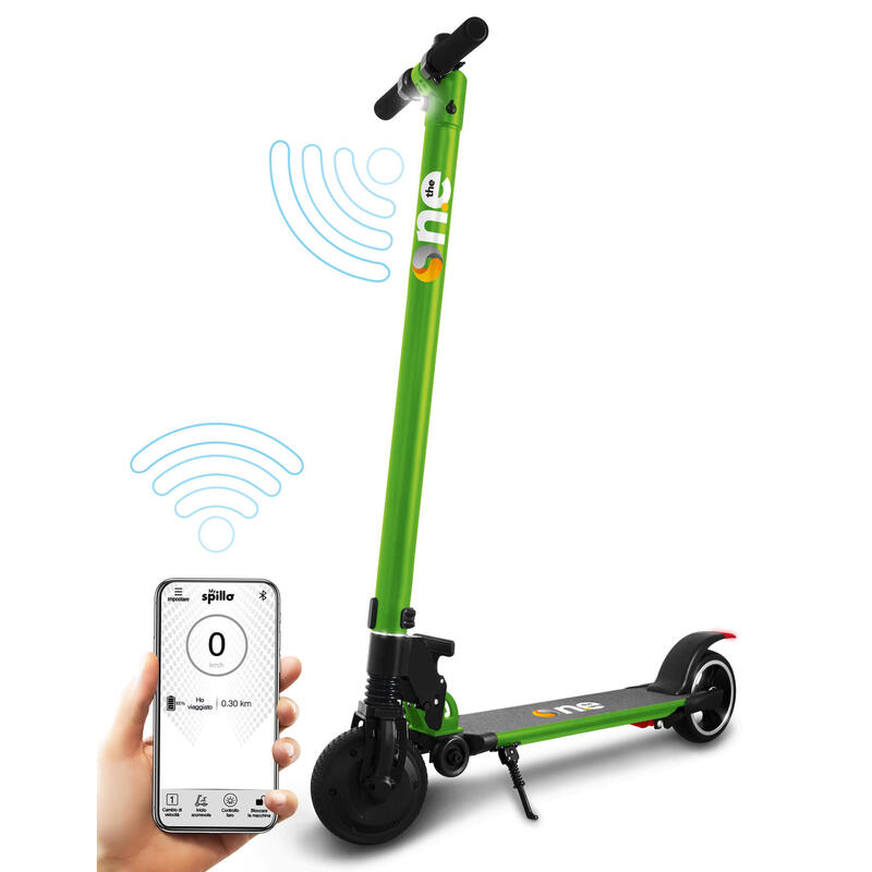 PRO Lime Green  Scooter elettrico pieghevole