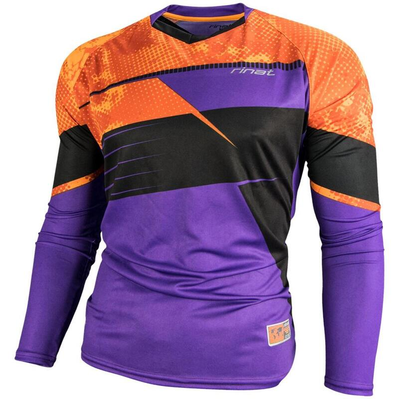 JERSEY ARKANO maillot gardien but football protections Enfants violet