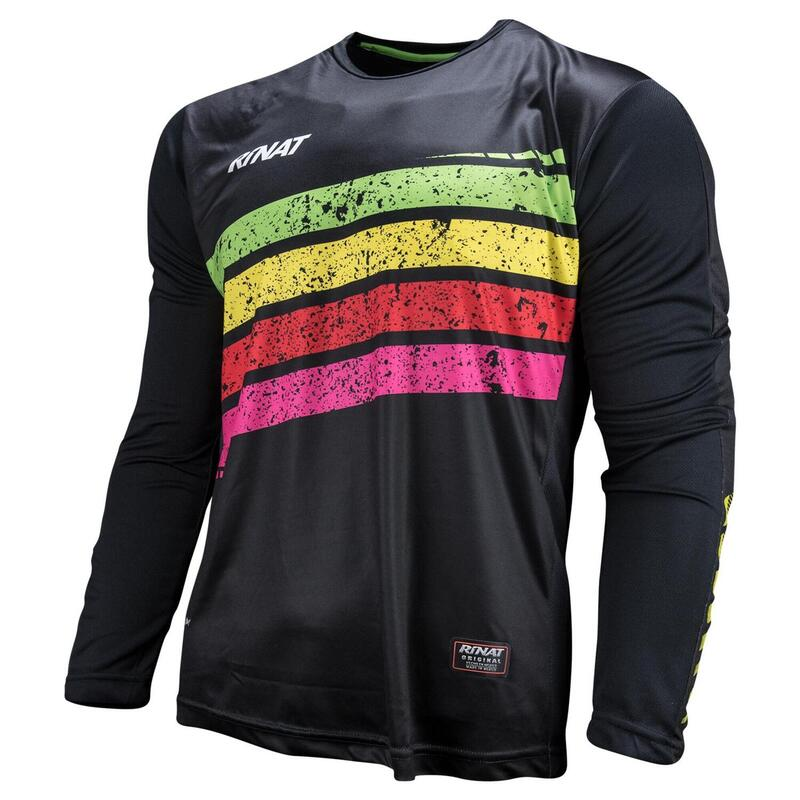 JERSEY PRISMA maillot gardien but football protections Adult Noir