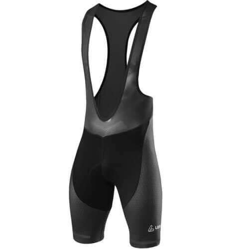 Fietsbroek kort M Bib Shorts Concept XT - Zwart met Grijs