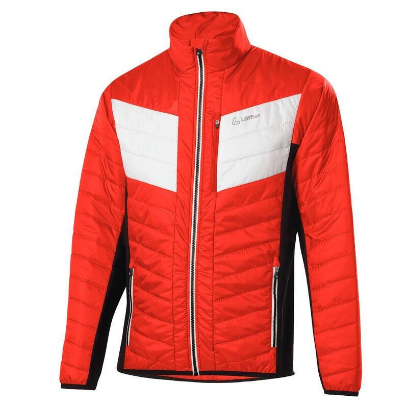Jas M Jacket Evo Hotbond Primaloft 60 - Rood