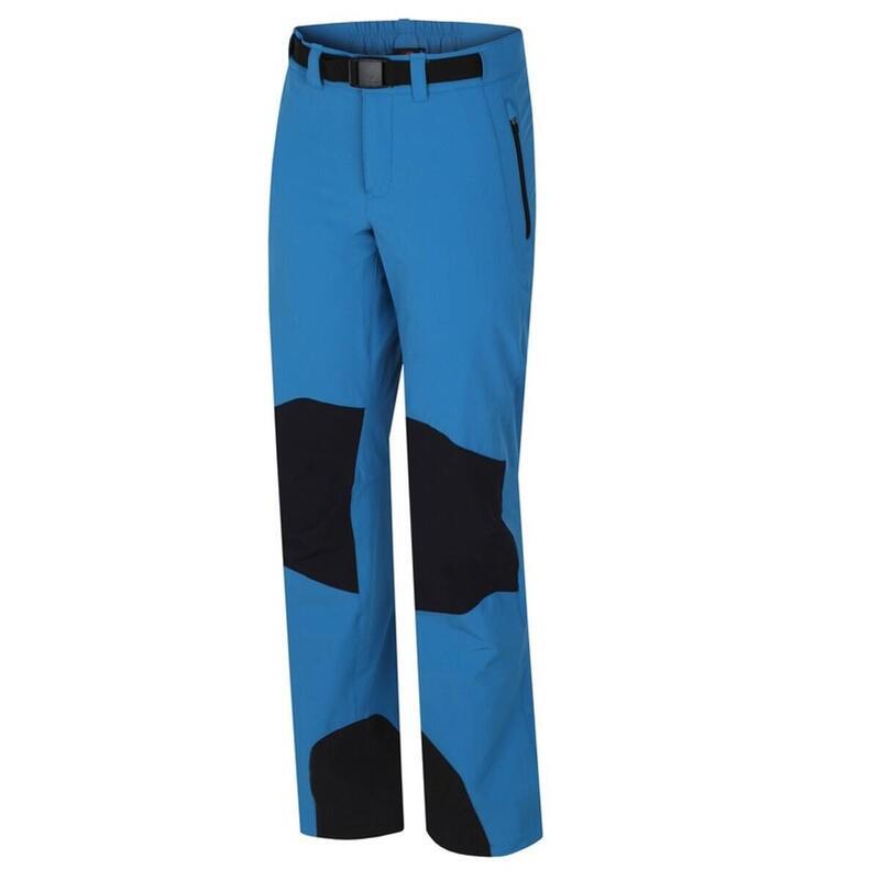 Outdoor-wandel broek Garwynet - softshell stretch Dames - Blauw