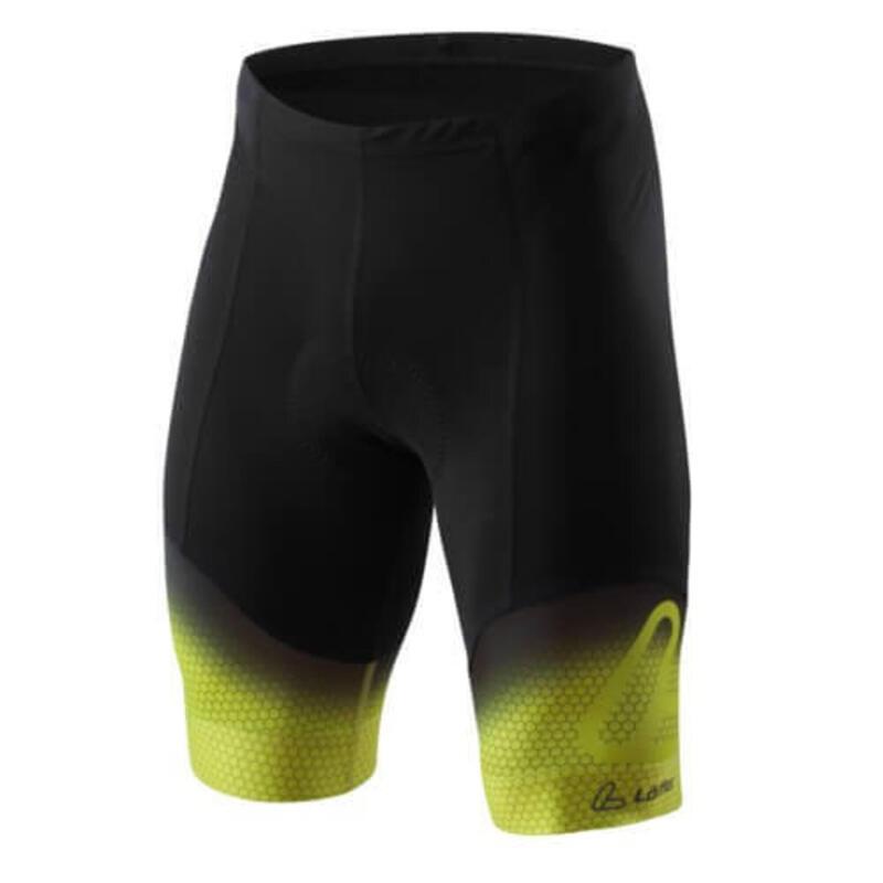 Fietsbroek kort M Bike Short Thights EVO - Zwart met Groen