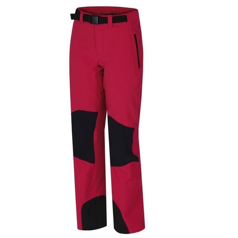 Outdoor-wandel broek Garwynet - softshell stretch Dames - Roze