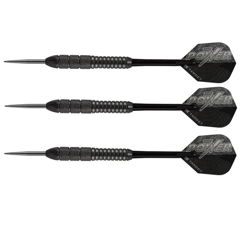Phil Taylor Power Storm Knurled Steel Tip Darts by Target