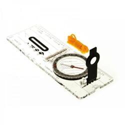Carte compas pliable avec collier - Transparent