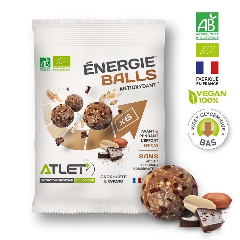 Energie balls cacahuete cacao 40 g