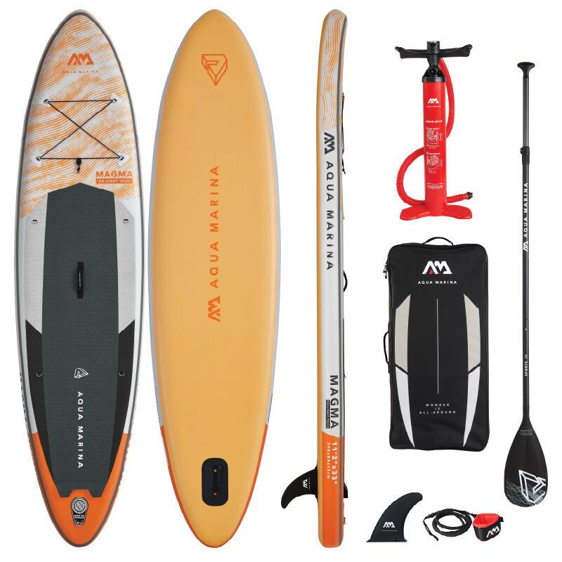 Aqua Marina Magma 11.2 / 340cm Inflatable Stand Up Paddleboard Package