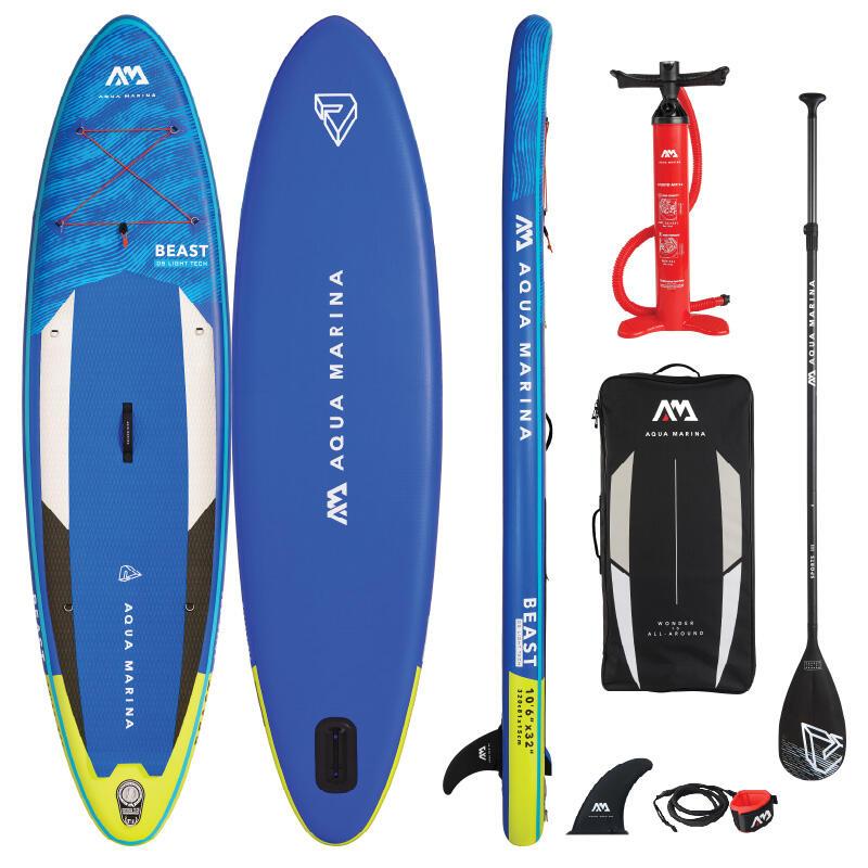 Aqua Marina Beast 10.6 / 320cm Inflatable Stand Up Paddleboard Package