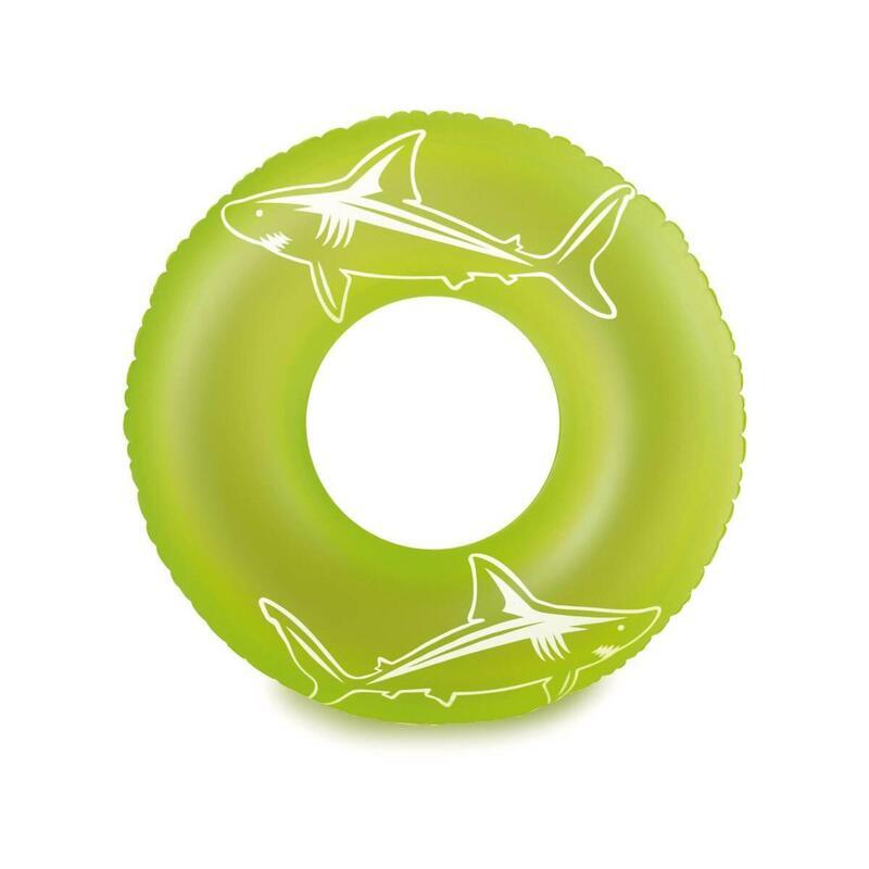 Bouée gonflable Neon tube - 26,67 x 17,15 x 23,50 cm - Vert