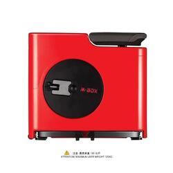 M BOX FOLDABLE FITNESS BIKE RED