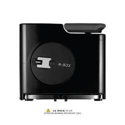 M BOX FOLDABLE FITNESS BIKE BLACK
