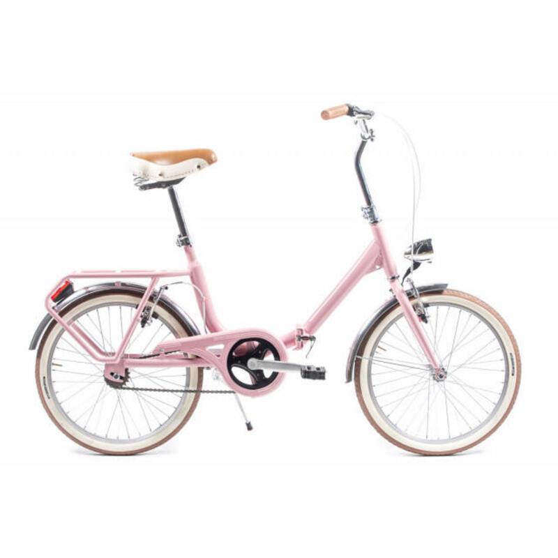 Capri Bambina rose vélo de ville pliable