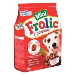 Mini Cibo Semi Umido per Cani con Manzo, Carote e Riso - Sacchetto da 1Kg