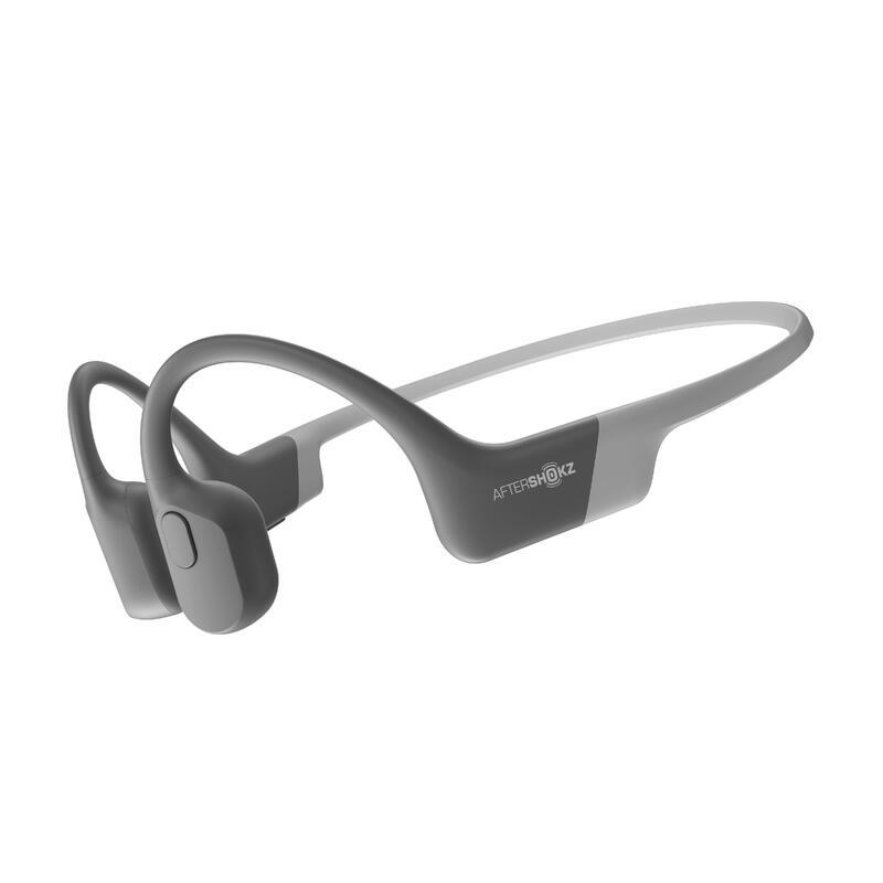 AfterShokz Aeropex (AS800) Bone Conduction Headphones - Grey