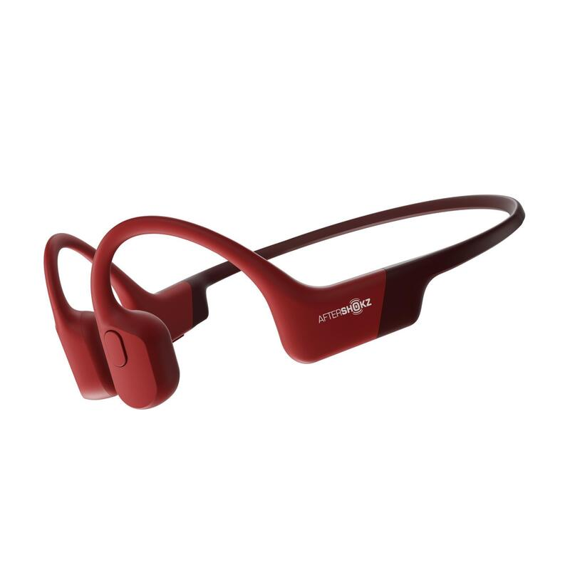 AfterShokz Aeropex (AS800) Bone Conduction Headphones - Red