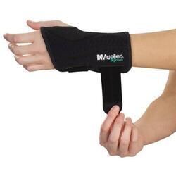 Green Fitted Wrist Brace Left, LG/XL