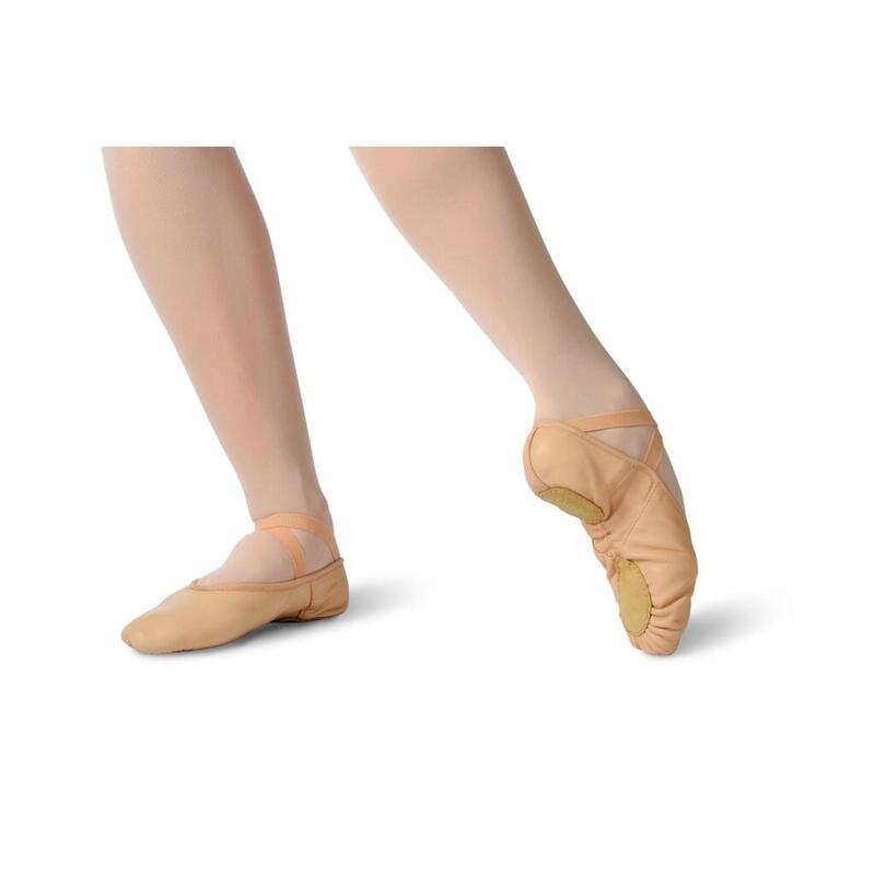 """ISIS - Medio zapato de baile en piel de """"segunda piel"""