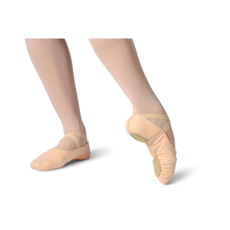 SETHA - Pantalones de media danza de lona elástica